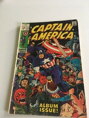 Captain America Vol. 1 (1968) 112 Marvel Comic