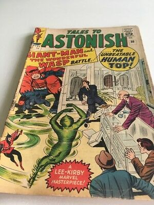 TALES TO ASTONISH #50 GIANT MAN AVENGERS Marvel Comic