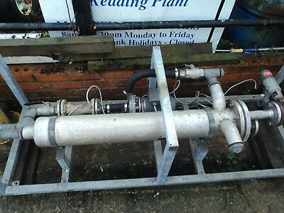 "Calorifer AG - Heat Exchanger/ Clarifier Stainless steel body and tubes ""SALE!!!"