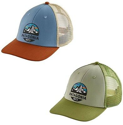 2491770a21e58 Patagonia Men s Fitz Roy Scope LoPro Trucker Hat SnapBack Adjustable Cap -  NWT