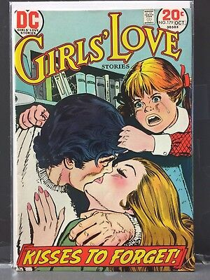 Girl's Love Stories 179 & 180 DC Comics 1973 VG - Fine HARD TO FIND Final Issues