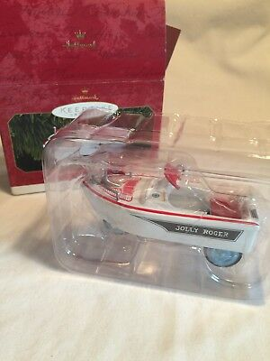 NOS 1999 Hallmark #6Kiddie Car Classic Ornament-1968 MURRAY JOLLY ROGER FLAGSHIP