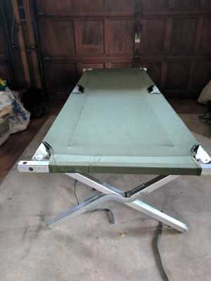 US Army Issue American Military Aluminum Cots - Genuine Army US GI Military