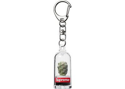 Supreme Ss18 Cactus Keychain Box Logo 100% Authentic In Hand