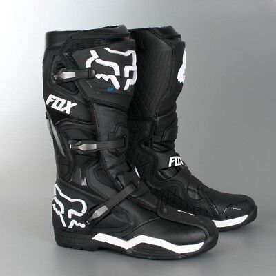 NEW - 2018 Fox Racing Comp 8 Boots Black - Size 14