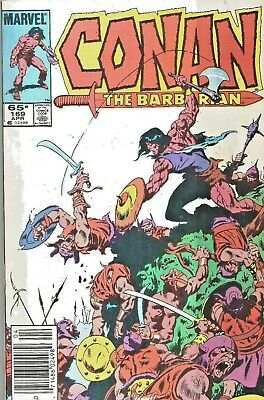 Conan The Barbarian Original Series #169  John Buscema  Marvel  1985  Nice!!!