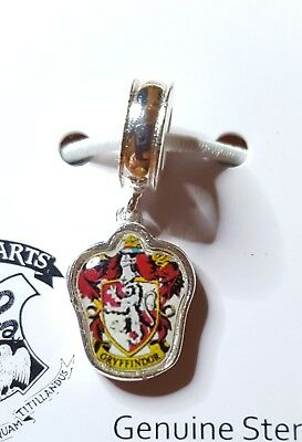 NWT Harry Potter Gryffindor Sterling Silver Charm Bead Officially Licensed