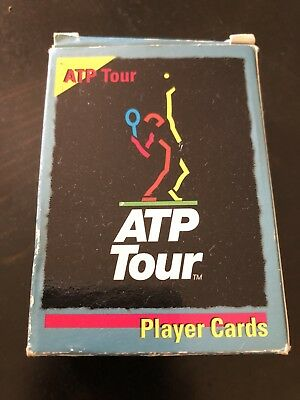 ATP Tour Tennis Empty Card Box / Packet/ Packaging