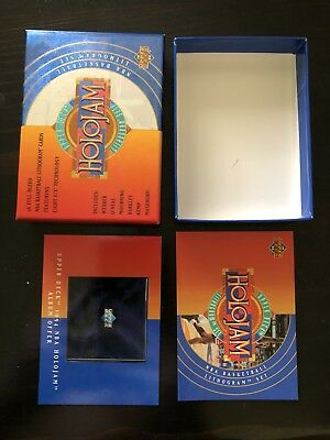 Upper Deck Holojam NBA Basketball Empty Card Box / Packet/ Packaging