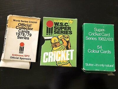 Scanlens Cricket Ardmona SPC Empty Card Box / Packet/ Packaging