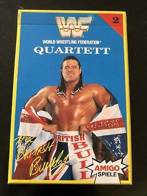 World Wrestling Federation 1992 Empty Card Box / Packet/ Packaging