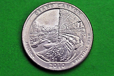 2010-D  BU  Mint State (GRAND CANYON)  US National Park Quarter