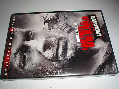DVD - Live Free or Die hard - 2 disc unrated Special Edition - widescreen