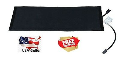 """Residential Snow Melting Heated Stair Mat SM11x30C-RES 11"""" W x 30"""" L Connectable"""