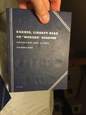 Barber Liberty Quarter Collection a Set of 55 Silver Quarters from 1892 to 1916