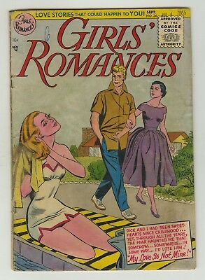 Girl's Romance #34 1955 Signal Publishing