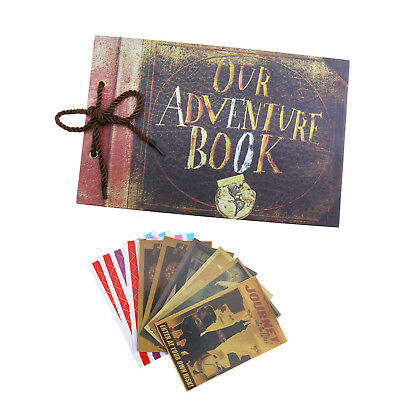Our Adventure Book Memory DIY Anniversary Scrapbook Photo Album Travel Gift