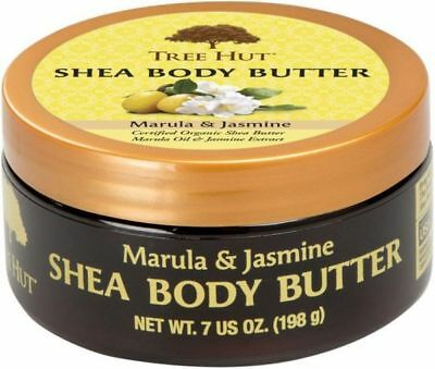 Certified Organic Shea Butter, Cocoa Butter, Tree Hut 7 oz. Various flavors