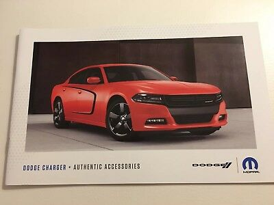 2018 DODGE CHARGER 16-page Accessories Original Sales Brochure