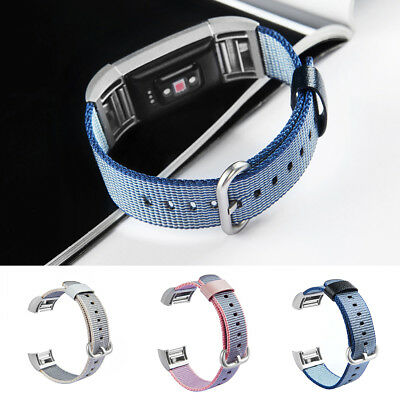 Replacement Soft Nylon Smart Bracelet Wristband Strap Belt For Fitbit Charge D