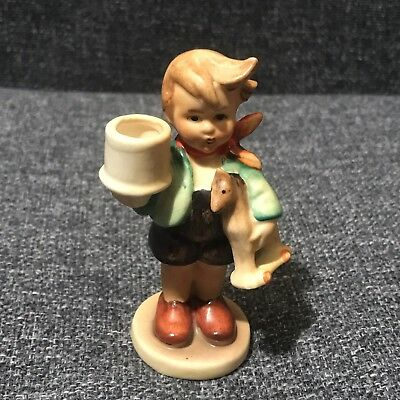 Goebel Hummel Figure - Little Boy With Horse and Cup - Nice Condition