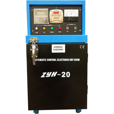 ZYH 20 Industrial electrode dryer 20kg 500ºC drying alkaline and other electrode