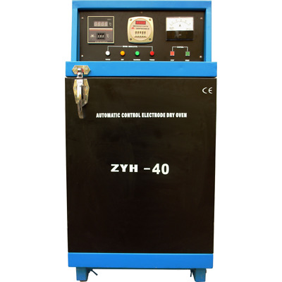 ZYH 40 Industrial electrode dryer 40kg 500ºC drying alkaline and other electrode