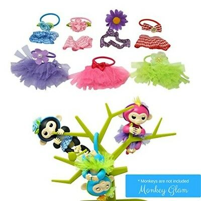 Tutu Headband Monkey Glam Party Pack Kids Dress Up 14 Piece Toy Accessories New
