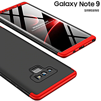COVER per Samsung Galaxy Note 9 Fronte Retro 360° ORIGINALE ARMOR CASE SLIM