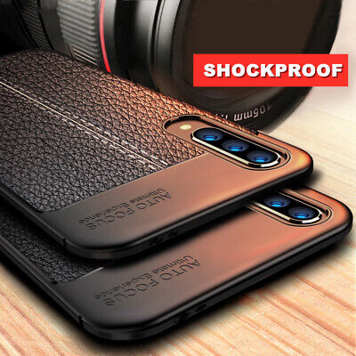 For Huawei P20 Pro P10 P9 P8 Lite Mini P Smart Shockproof TPU Leather Back Case