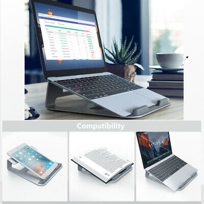 "Laptop Stand for 11-15.4"" MacBook Pro & Air Portable Adjustable Cooling Pad AU"