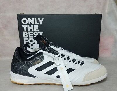 6cc3ce0bb Adidas Copa Tango Boost 18.1 IN Men Size 13 Indoor Soccer Shoe White Gold  CQ0132