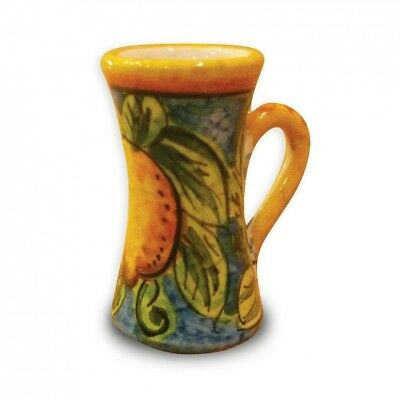 Handmade Limone Limoncello Cup From Italy. Umbria Limone. Huge Saving