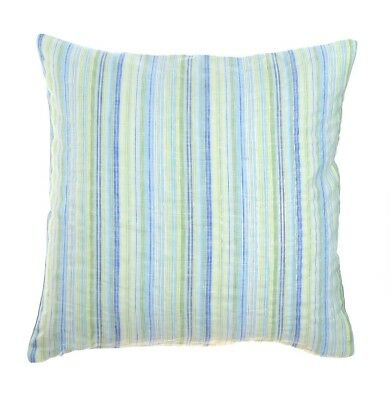 (18x18) - Morning Mist Green Throw Pillow Covers 18 x 18 100% Pure Linen.