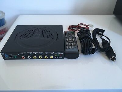 DVB-T Tuner , In Car 12 Volt 4 Way , Remote Freeview Look Wow