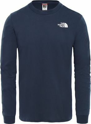 THE NORTH FACE Simple Dome T93L3BH2G Baumwolle Pullover Langarmshirt Herren Neu