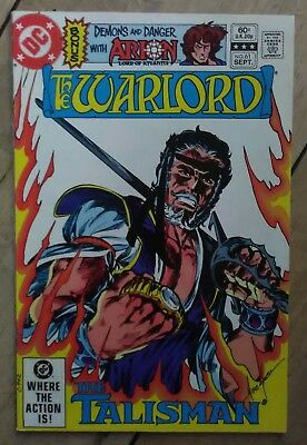 Warlord #61 1982 VF- DC Fantasy Comics Arion MIke Grell Discount & 25+ FREE P&P