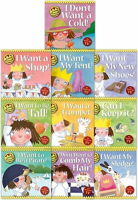 Little Princess Children Collection Tony Ross 10 Book Set I want a Shop, I Want