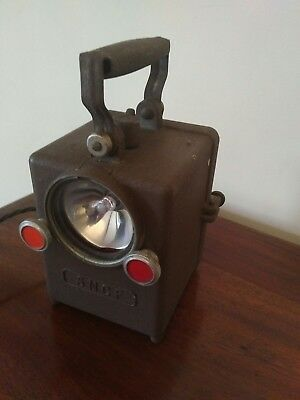 SNCF French railway signal lamp conversion