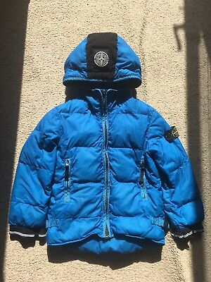 STONE ISLAND lightweight hooded kids boys coat jacket age 6