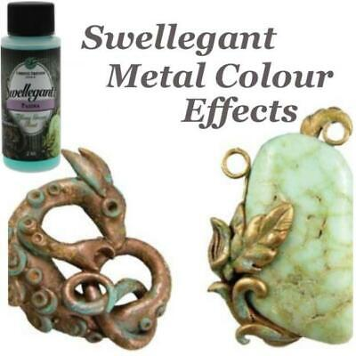 Swellegant Metal Coatings Patina, Dye Oxides, Sealer & Colour for Metal & Clay