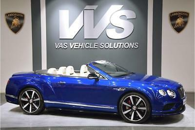 Bentley Continental Gt V8 S Mds Convertible 4.0 Automatic Petrol