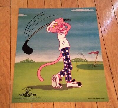 PINK PANTHER Metro Goldwyn Mayer -MGM 1999 Rare-Fine Art Management Corp