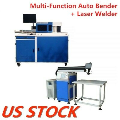 US Stock Metal Channel Letter Making Solution Sets Multi-Function Auto Bender