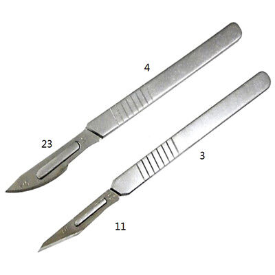 10x11# carbon steel surgical scalpel blades or pcb circuit board + 1x3 handle LJ
