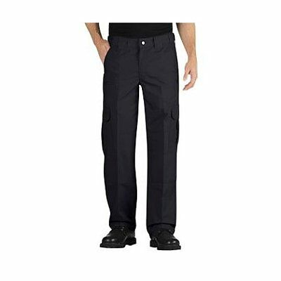 Dickies Relaxed Fit Straight Leg Lightweight Ripstop Tactical Pant - Black,