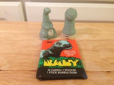 Baby: Secret of the Lost Legend lot - pack of cards and 2 full candy containers
