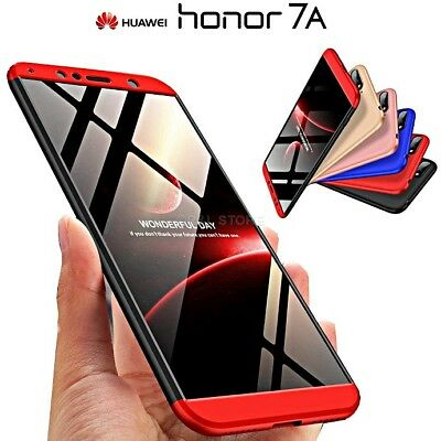 COVER per Huawei Honor 7A CUSTODIA Fronte Retro 360° ORIGINALE ARMOR CASE Slim