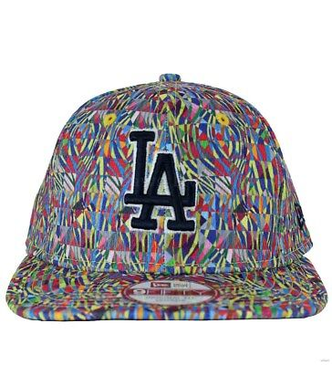 hot sale online e63e6 233f1 New Era 9Fifty LA Dodgers Biggie Multi Original Fit Snapback Baseball Cap
