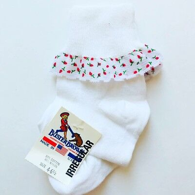 NWT Vintage Buster Brown Strawberry Toddler Socks